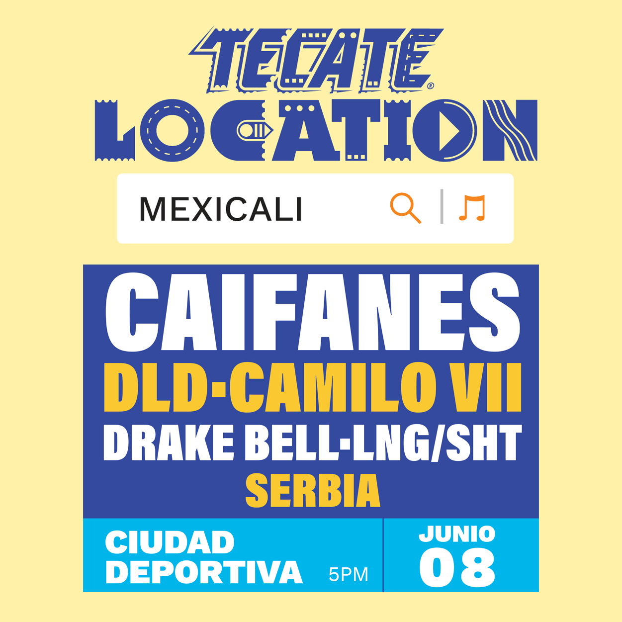 Tecate Location